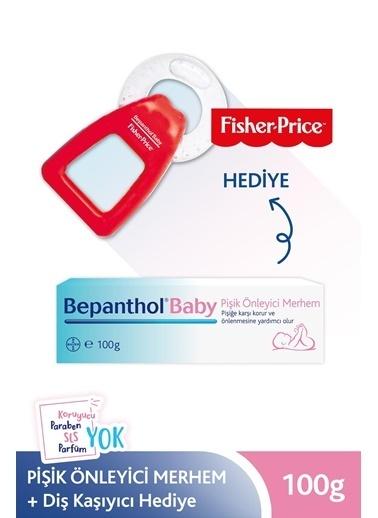 Bepanthol Baby Pişik Merhemi 100Gr + Fisher Price Kırmızı Diş Kaşıyıcı Hedıye ! Renksiz
